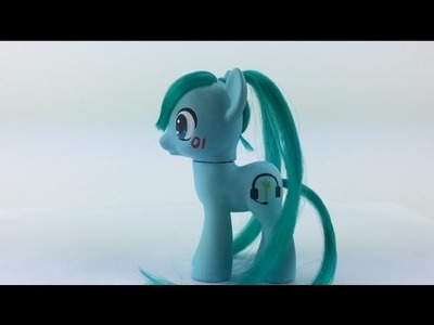 Hatsune Miku Custom pony DIY tutorial