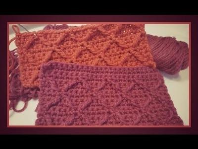 """How to Crochet the Diamond Stitch"""