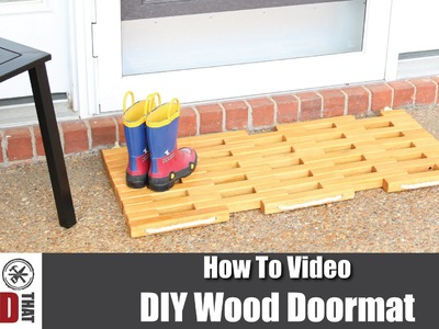 How to Make a Wood Doormat