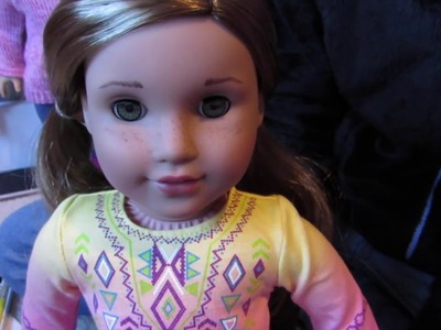How to: Freckles on Your American Girl Doll!