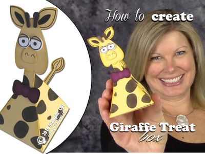 How to make a Photoboming Giraffe Treat Box featuring Stampin Up Playful Pals