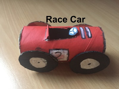 How to make a race car out of cardboard