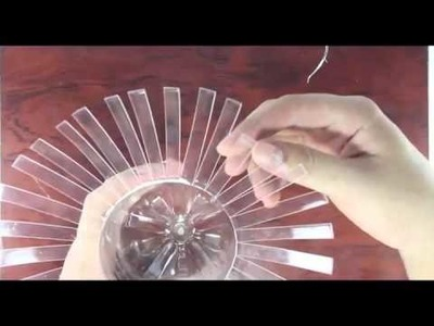 How to make Decorative vase from plastic bottles