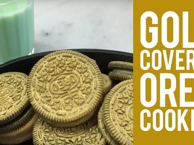 How to Make Gold Covered Oreo® Cookies