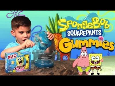 Jello SpongeBob GUMMY Characters - How To Make It