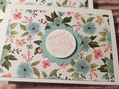 One Sheet Wonder - How to make 10 cute, easy, quick cards with 1 piece of DSP
