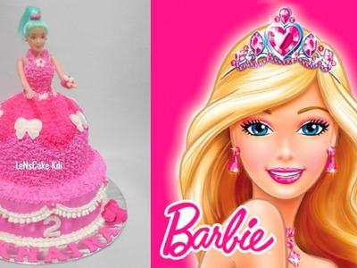 Barbie Cake How to Make Easy