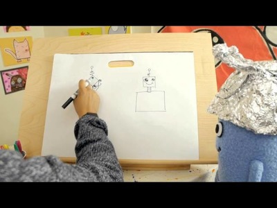 Beanie & Bren: How to Draw a Robot