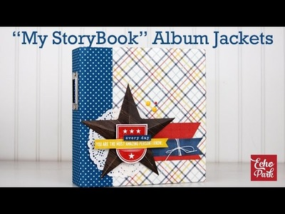 How to Adhere My StoryBook Album Jackets to a 6x8