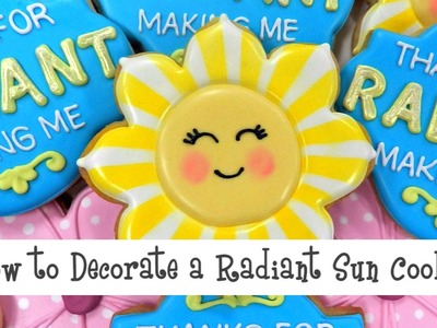 How to Decorate a Radiant Sun Cookie