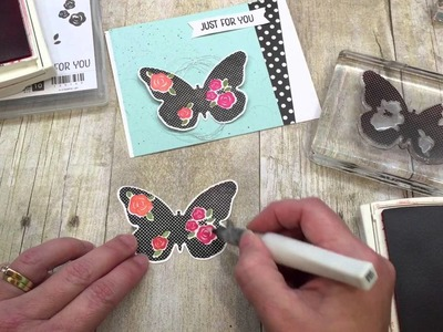 How to make a fun Butterfly Card for Spring!