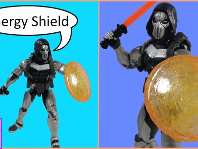 How to Make Energy Shield for Taskmaster Marvel Legends Figure
