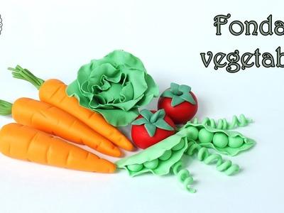 How to make fondant vegetables. Jak zrobić warzywa z masy cukrowej