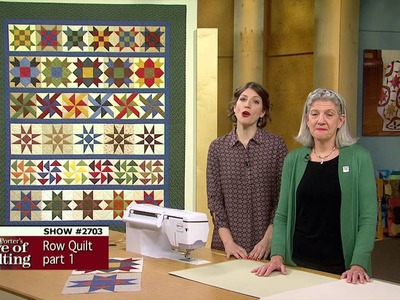Love of Quilting Preview: How to Make a Patchwork Quilt, Pt 1 - Patchwork Pleasure (2703)