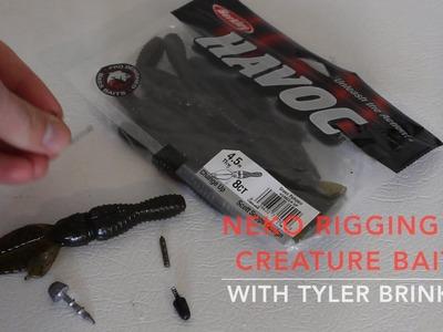Rigging How-To:  Neko Rig  a Creature Bait