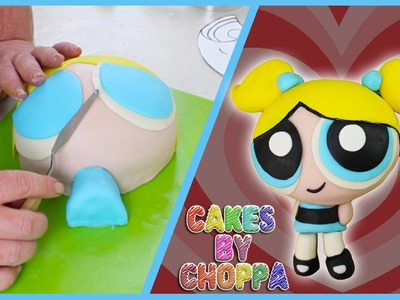 Bubbles Cake - PowerPuff Girls (How To) || CakesByChoppA