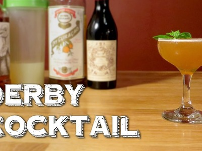 Derby Cocktail (Bourbon Version) - How to Make the Vintage Whiskey Drink