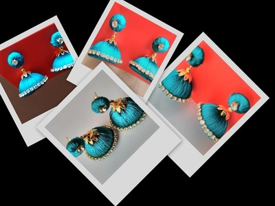 Do you Know How to make Silk Thread Stud Jhumkas