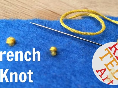 French Knot How To - Basic Sewing (Embroidery & Hand Sewing)