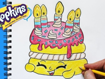 """How to Draw Shopkins Season 1 """"Wishes"""" Step By Step Easy 