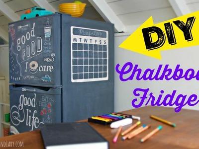 How to make a Chalkboard Fridge - Tribute to my Mom