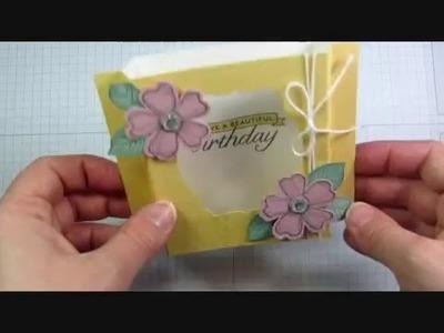 How to Make a Diorama Card
