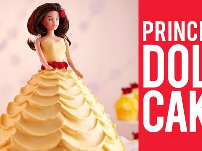 How to Make a Princess Doll Cake