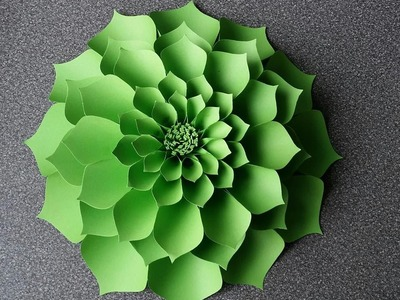 How To Make Antonia Giant paper Flower