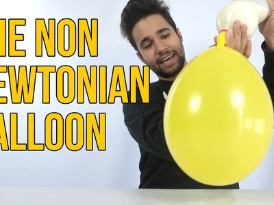 How to Make The non Newtonian Balloon - SCIENCE EXPERIMENT