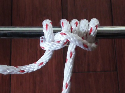 How To Tie A Camel Hitch