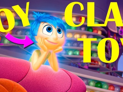Inside Out Joy Disney Pixar Summer Movies Play Doh Clay How To Make Tutorial Best Funny Moments