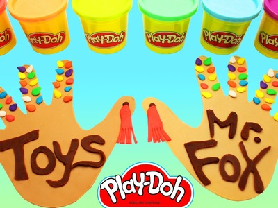 Learn How to Make Hand Print Baby Colorful Cookies With Play Doh