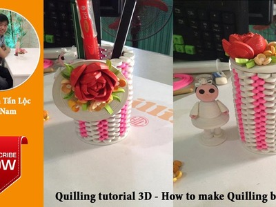 Quilling tutorial Advanced 3D- How to make Advanced Quilling box 02