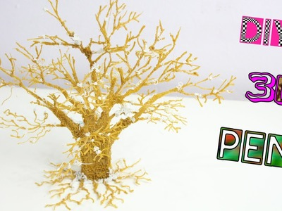 3D PEN - Albero in 3D | How to Make a tree - 3D Printing Pen DIY