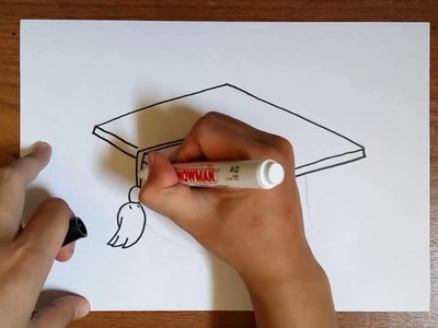 How to Draw Graduation Cap