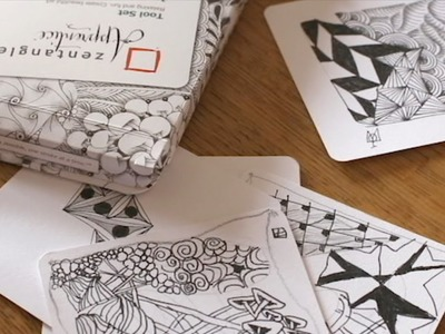 How to Draw the Zentangle® Tangle 'Indy-Rella'