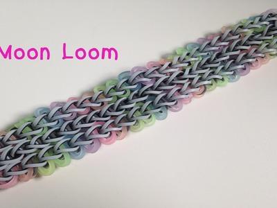 How to Loom: Pebble Path bracelet (Moon Loom)