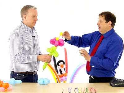 How to Make a Balloon Flower - BMTV 58