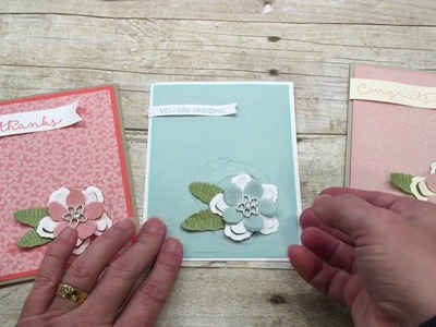 How to make a Botanical Blooms Vellum Card