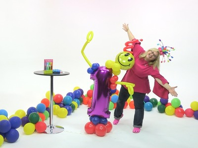 How To Make a Cute Balloon Birthday Number Man