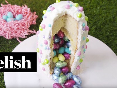 How To Make An Easter Surprise Cake | Delish + Country Living