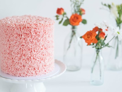 How To Make An Easy Ruffle Cake - CAKE STYLE