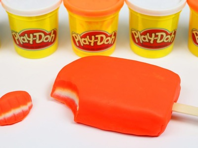 How to Make Beautiful PLAY DOH CREAMSICLE Fun & Easy DIY Play Doh Ice Cream Desserts!