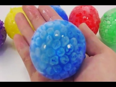 How to Make Giant Ball Pudding Jelly Learn Colors Recipe Cooking DIY