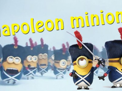 How To Make Napoleon Minion Civil War - Despicable Me Minions Movie Play Doh Clay - Toy For Kids