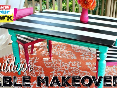 How to: Outdoor Table Makeover