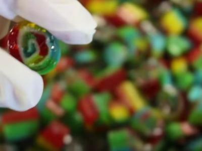 How we make Tutti Frutti image candy.