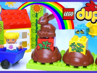 Learn How Gardens Grow Duplo Lego My First Garden Build Review Play - Kids Toys