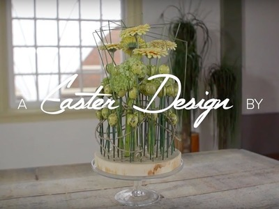 Pink orchids for Easter | Flower Factor How to | Easter designs