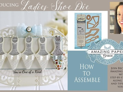 APG -  How to Assemble the Ladies Shoe Diecut